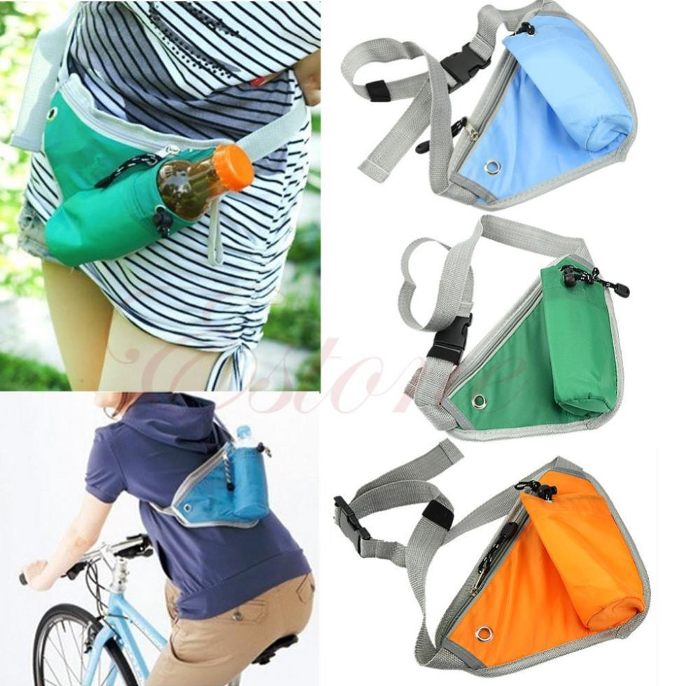 Free Shipping New Outdoor Hiking Waist Running Jogging Sport Bum Bag Pack Belt Storage Pouch