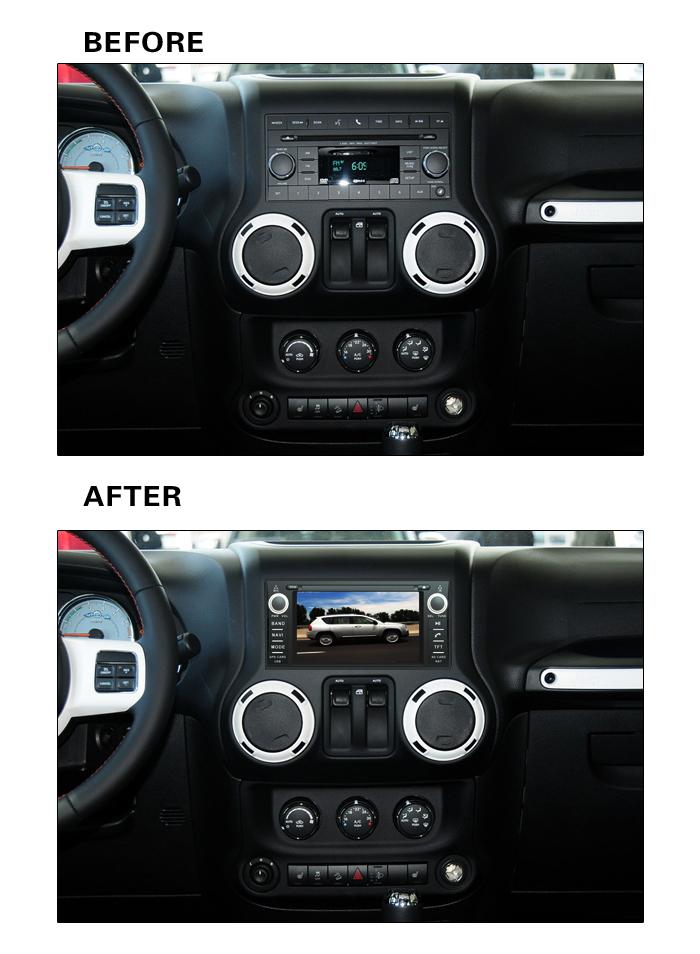 Cherokee Compass Journey Car DVD GPS for Wrangler Commander Dodge Grand Chrysler Sebring with 3G Internet 1G CPU(China (Mainland))