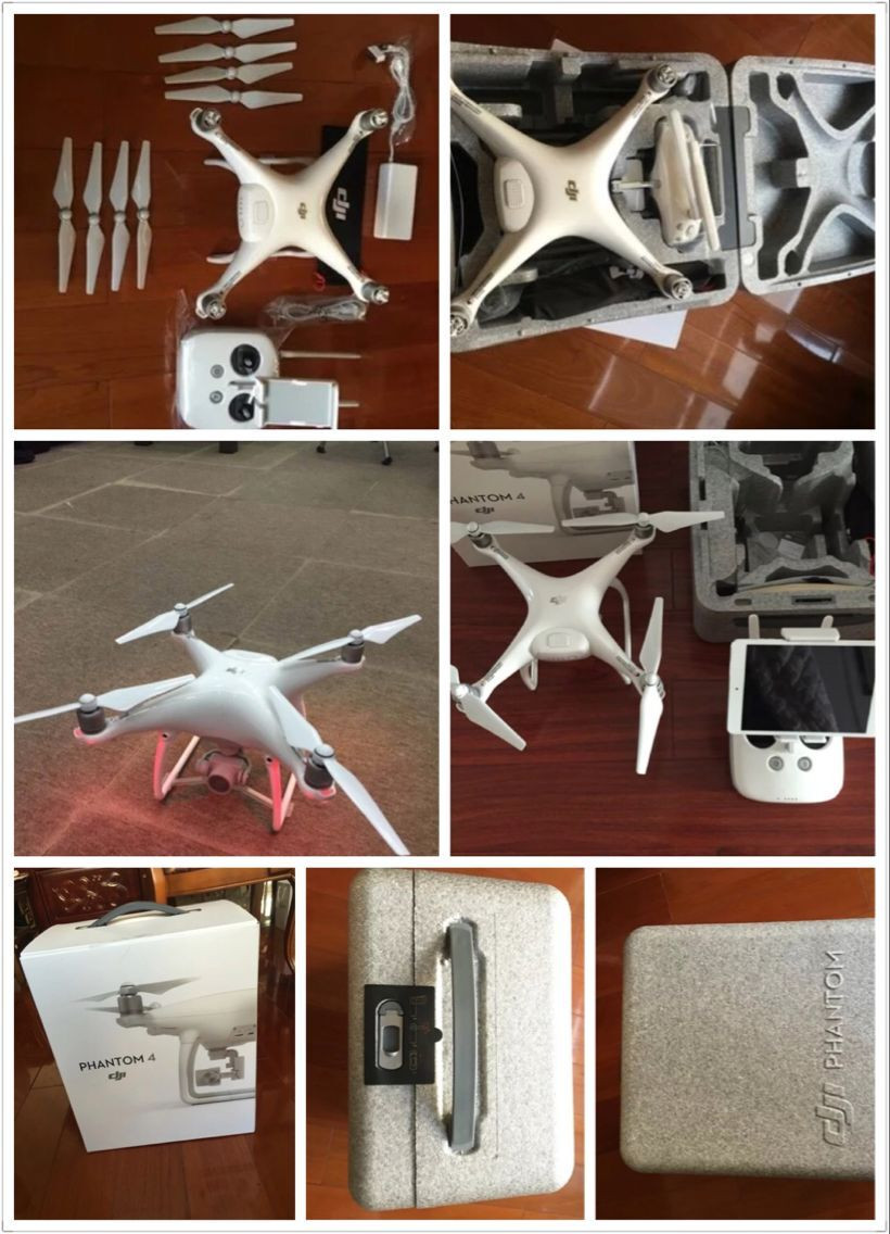 2016 New Released! IN Stock DJI Phantom 4 Quadcopter with 4K Camera and 3-Axis Gimbal for Drones Photographer Fast Shipping