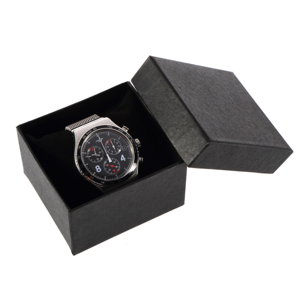 2014 14 pcs Paper Present Gift Case For Bangle Jewelry Watch packaging Box Wristwatch gift Boxes 83mm*78mm*52mm Wholesale(China (Mainland))