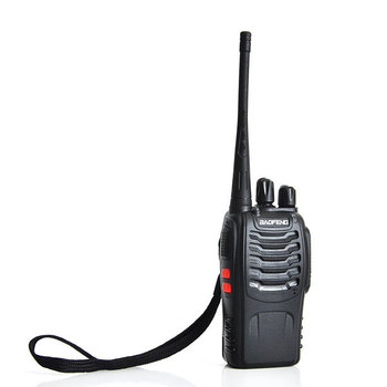 10pcs New walkie talkie 5W 16CH UHF BAOFENG  BF-888S  two-way Radio Interphone Transceiver Mobile Portable  A0784A Fshow