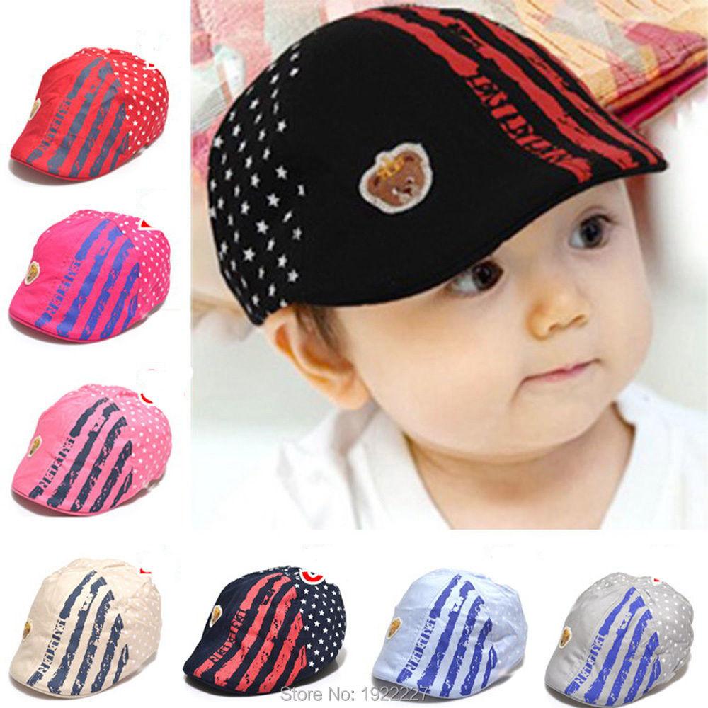 Hat Baseball Beret Casquette Peaked Cap Toddler Infant Kid Girls Boy's Baby(China (Mainland))