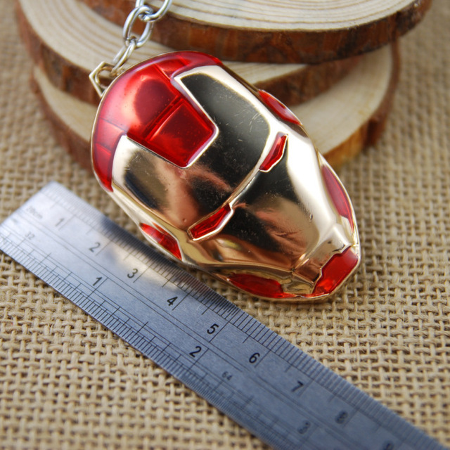 Iron Man mask keychain