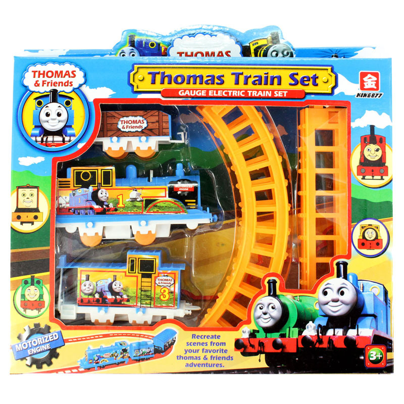 Mini Electric Thomas Train Rail Road Set Toy For Kids Thomas And Friends Trains Model Brinquedos Educational For Children(China (Mainland))