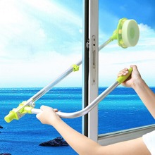 1pcs free shiping  telescopic High-rise window cleaning glass cleaner windows Cleaning Brush for clean the windows hobot 168 188(China (Mainland))