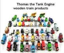10 pezzi/lotto thomas e gli amici dei treni auto di legno set completo di auto motore del giocattolo giocattoli treno(China (Mainland))
