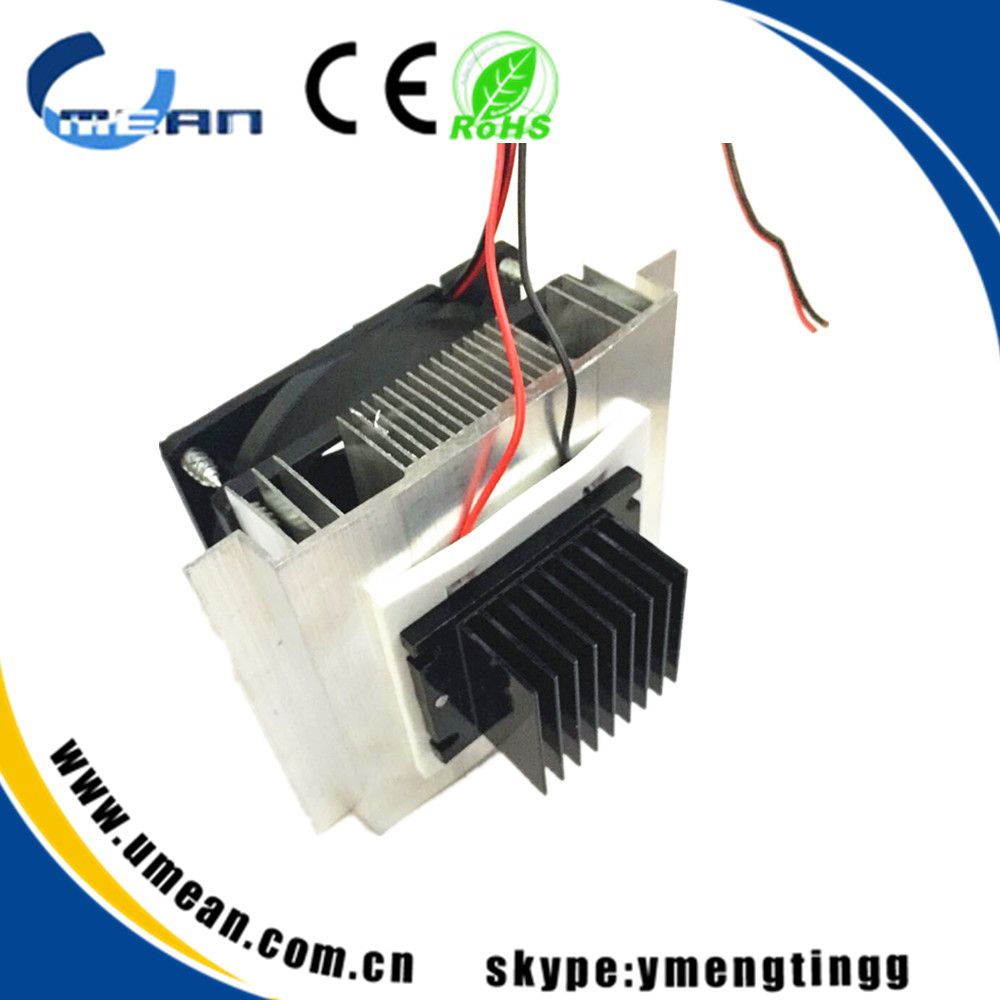 DIY air conditionerv Thermoelectric Peltier Refrigeration Cooling System Kit Cooler for DIY TEC-12706 mini air conditionerv(China (Mainland))