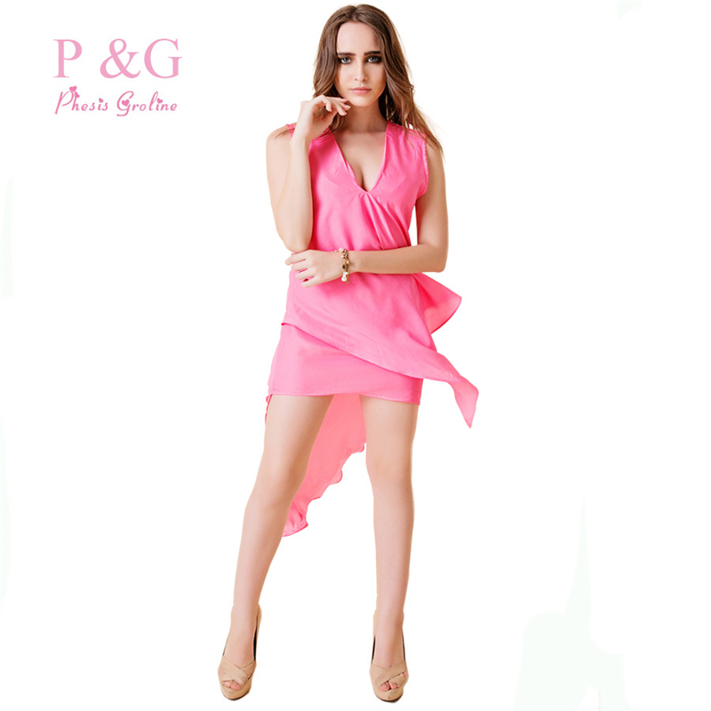 New Com  Buy New 2016 Women Dress Elegant One Piece Summer Dress