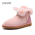 100 natural wool fur sheepskin genuine leather quality snow boots for women warm keep comfortable snow