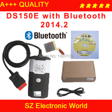Best Quality 2014.R2 DS150e with Bluetooth DS150 CDP Pro Plus 3 IN 1 with Keygen in CD Free Shipping(China (Mainland))
