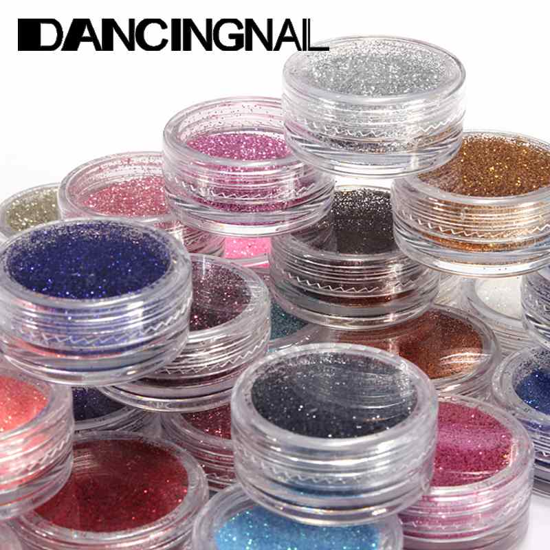 1Pcs Nail Glitter Shiny Sparkly Powder Nails Art Design Tips Dust Decorations For Women Beauty Gel Tools Free Shipping(China (Mainland))