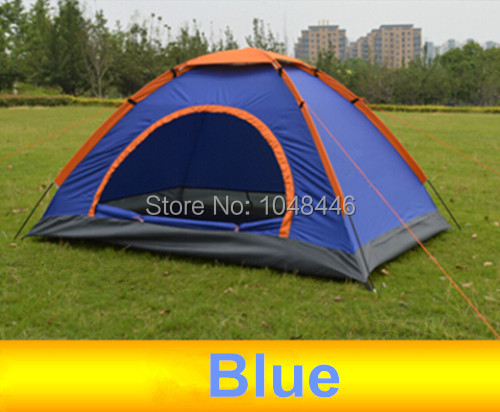 Outdoor tent and moisture-proof pad double 1-2 people Camping Tent Camping Park outdoor set of anti ultraviolet(China (Mainland))