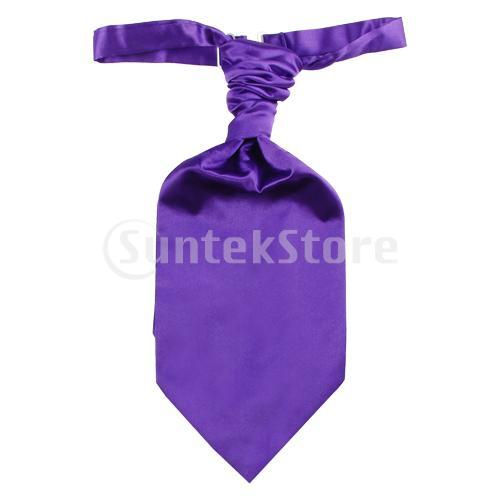 Бесплатная доставка ребенка размер галстук рюш два норма галстук - фиолетовый