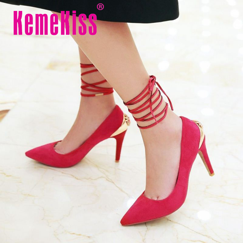 women thin high heel shoes spring summer wedding sexy party quality pumps fashion pointed toe footwear shoes size 32-43 p22831<br><br>Aliexpress