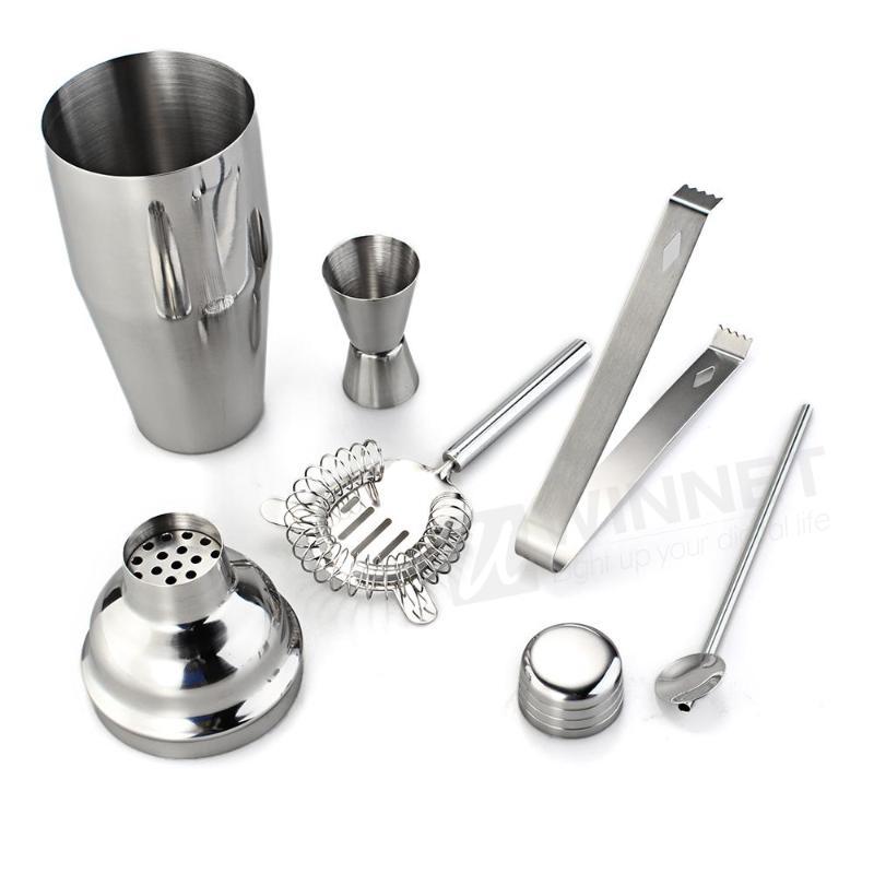 Stainless Steel Cocktail Shaker Jigger Set