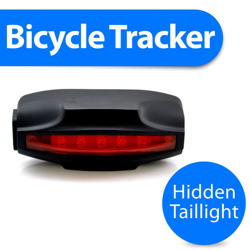 Special Tail Lamp easy locator Bike GPS tracker,low cost,waterproof,2200mAh battery,free gprs tracking software,real address SMS(China (Mainland))