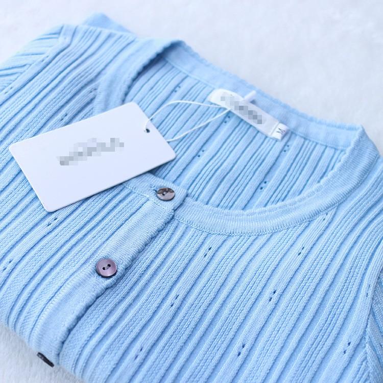 Весна Осень кардиганы женщин свитер пиджак кардиган чистый цвет с длинным рукавом короткие свитера Вязание без подкладки верхней