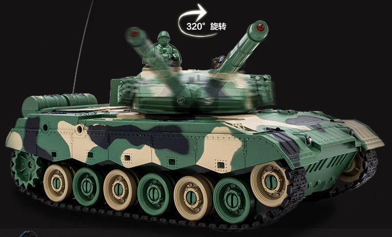 Kingtoy Rc Battle Tank Remote Control War Shooting Tank large scale Radio Control Army battle Model millitary rc tanks Toy