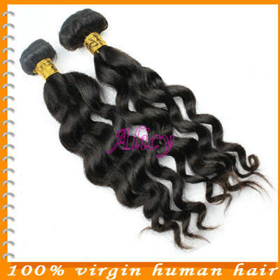 Bella Dream Hair Products factory Mix 2Pcs/Lot wavy Brazillian Virgin Human Hair Extensions Wholesale Natural Color Tangle Free