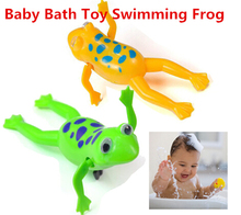 Buy Funny Baby Kids Bath Toy Clockwork Wind Plastic Swimming Frog Battery Operated Pool Bath Kids & Baby lq new S16 for $1.02 in AliExpress store