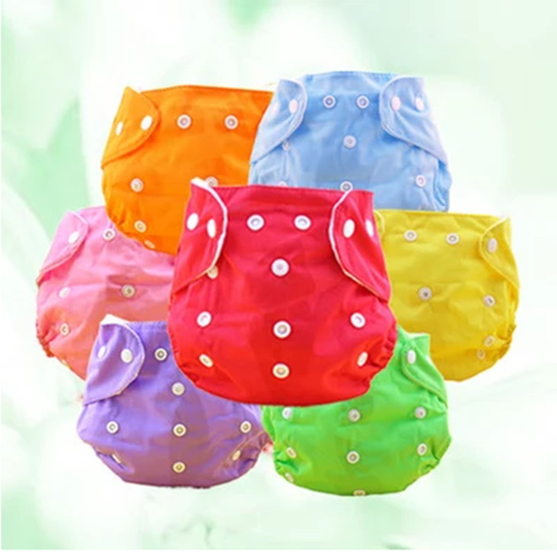 5pcs/lot reusable baby waterproof nappies baby diapers microfiber diapper breathable baby cloth diapers free shipping