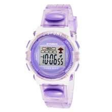 Splendid SYNOKE Rubber Digital Led Wristwatch for Girls Kid ChildrenTop Brand Luxury 4 Colors