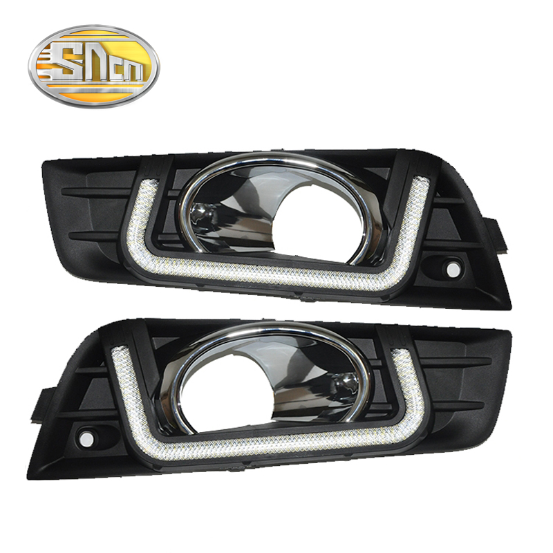 LED Daytime Running Light For Chevrolet Cruze 2009 - 2012,Car Accessories Waterproof ABS Cover 12V DRL Fog Lamp Decoration(China (Mainland))