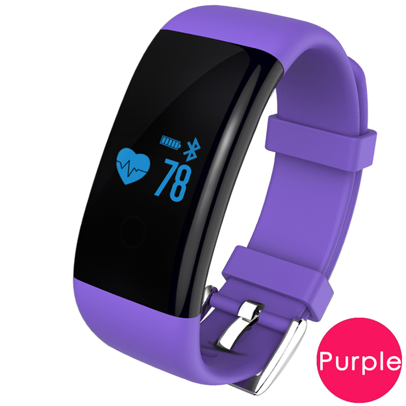 Heart rate monitor bracelet connect smart band wristband fitness tracker activity tracker better than mi band 2 xaomi xiomi(China (Mainland))