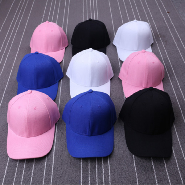 Black Pink White Blue Blank Plain Snapback Baseball Cap for Men Women Bboy Hats Blank Cotton Snapback Caps Hip Hop Bones Gorras(China (Mainland))