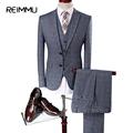 2017 New Fashion Mens Wedding Suits Classic Three Piece Men Suit Terno Masculino Slim Fit Blazer