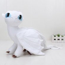 3 35 centímetros Como treinar O Seu Dragão Dragão Fúria Da Noite Desdentado Plush Toy Stuffed Bonecos de Pelúcia Bonecas de Aniversário Dos Miúdos brinquedo de presente(China)