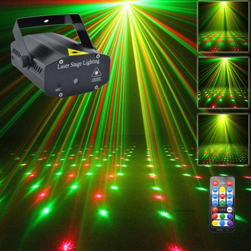 New Mini Portable IR Remote RG Meteor Laser Projector Lights DJ KTV Home Xmas Party Dsico LED Stage Lighting OI100B(China (Mainland))