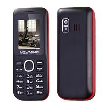 NEWMIND Phone With Vibration MP3 bluetooth dual sim card FM radio senior phone for old people(China (Mainland))