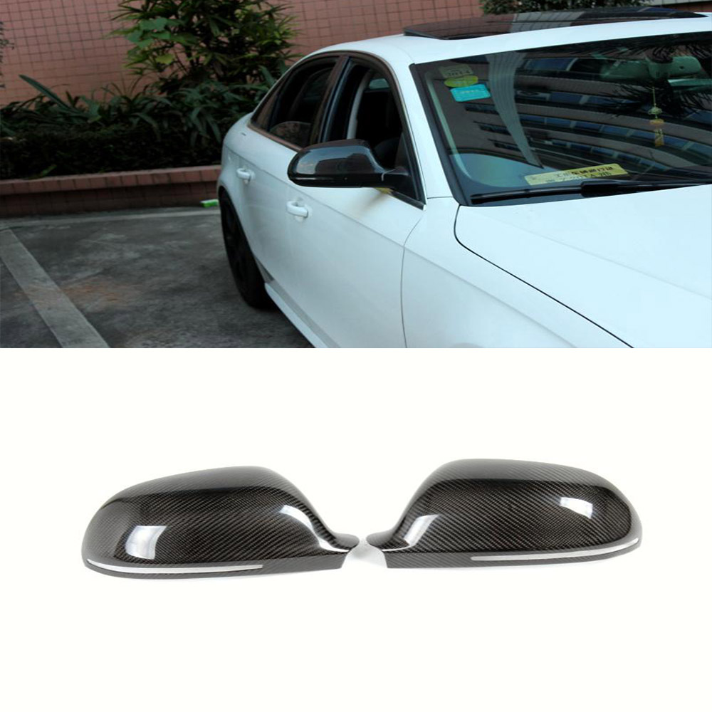 Фотография A4 B8 Auto Car Rear Mirror Covers, Side Mirror Caps For Audi (Fit For A4 B8 2008-2009 )