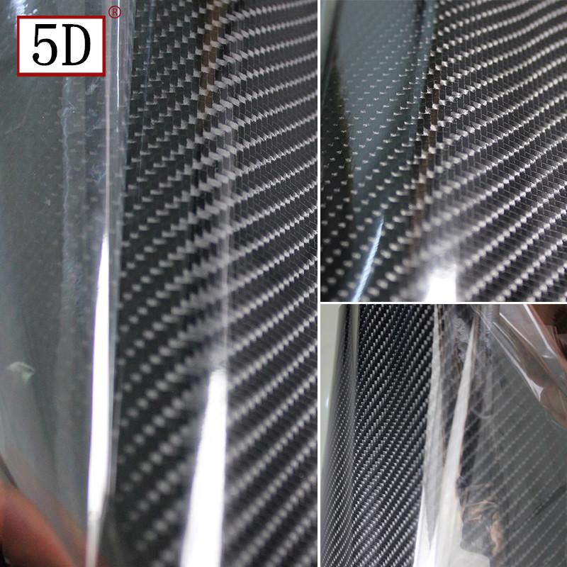 Car Sticker Glossy Black 5D Carbon Fiber Vinyl Wrap Film DIY Car Decorative For Vehicle Motorcycle<br><br>Aliexpress