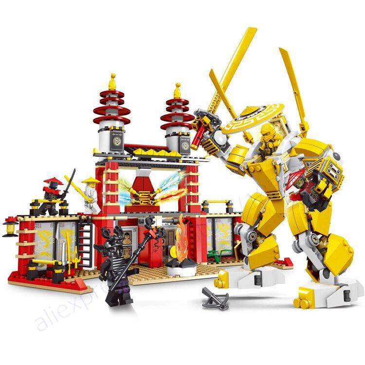 LELE Ninjago Marvel Ninja Building Block Model Kits Brick Toys Minifigures Ninjagoed magformers Compatible Free Shopping