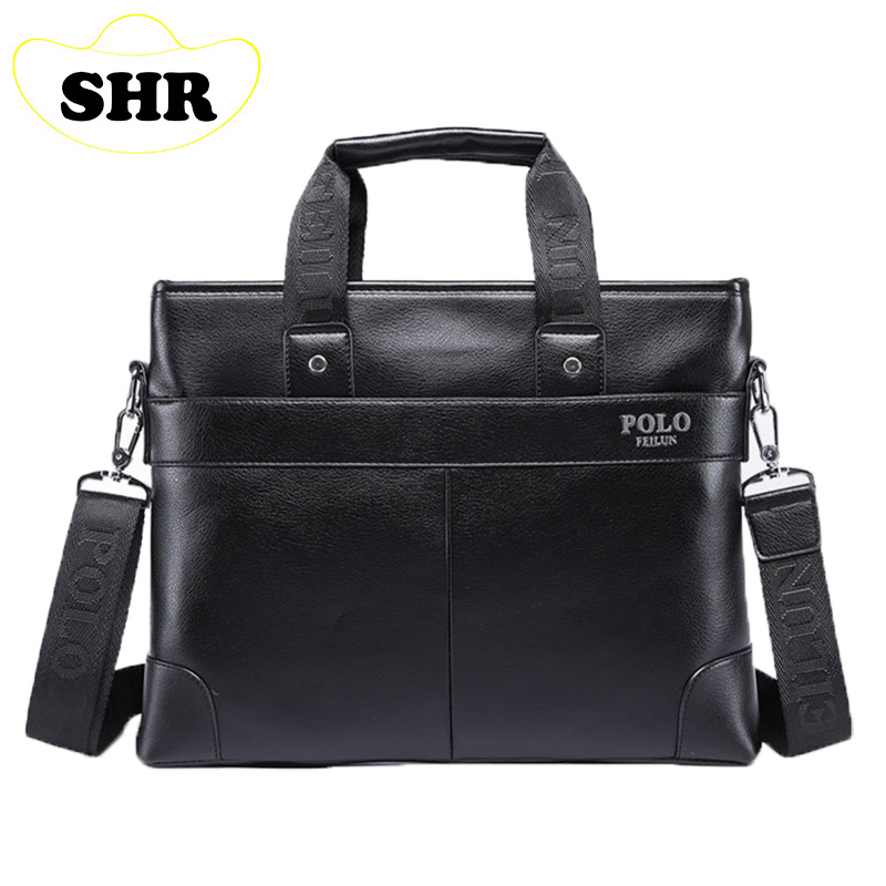 Leather leather mobile commerce male Bag Shoulder Bag Satchel men's