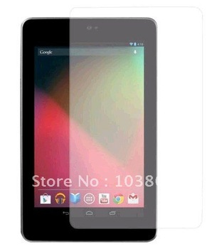 Free shipping Clear LCD Screen Protector Guard For Google Nexus 7 Tablet