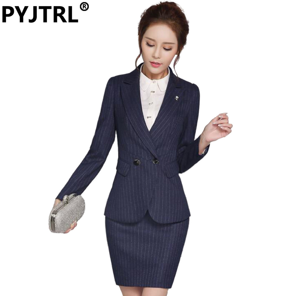online buy whole work pants suits for women from work office uniform designs pants suits for work women wear long sleeved striped overalls spring interview