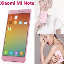 Original Xiaomi Mi Note MiNote Pink 4G FDD LTE 5.7″ 1920×1080 Snapdragan801 Quad Core 13MP 3GB RAM 16GB ROM Ladies Mobile Phone