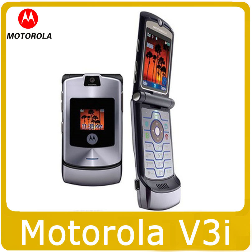 "Origina V3i Motorola 2.2 "" Mobile Phone Multi-Colors GSM Unlocked Motorola RAZR V3i Cellphone(China (Mainland))"