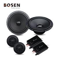 6.5inch component car speaker with high sensitivity speaker sets 150W car audio system LB-TC156B