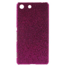 Buy Sony Xperia M5 Cover Case Glittery Sequins Coated Hard Plastic Case Sony Xperia M5 E5603 / M5 Dual E5633 for $3.89 in AliExpress store