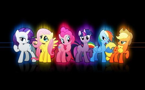 "01 My Little Pony Friendship is Magic Cute 22"" x 14"" inch Wall Poster"
