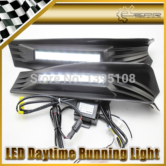 Фотография New Car Styling Auto Lamp For Honda Accord 2011-2013 LED Daytime Running Light DRL Car Accessories