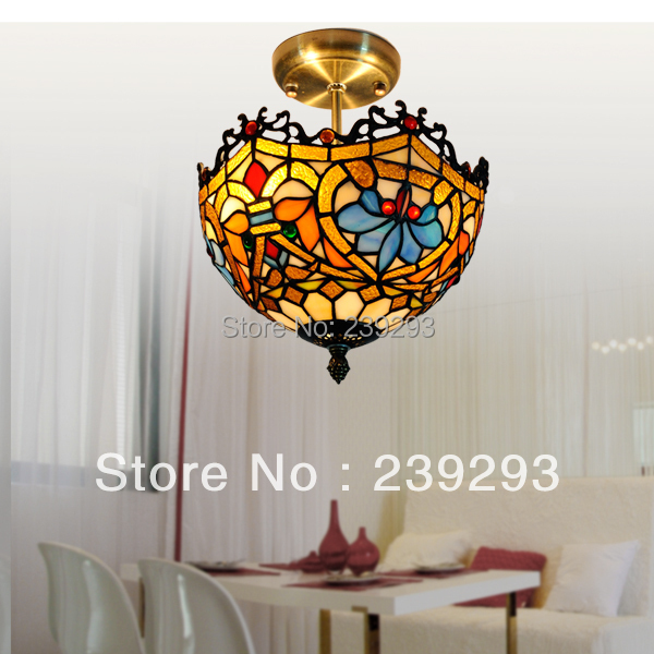 online buy wholesale stained glass lamp shades from china. Black Bedroom Furniture Sets. Home Design Ideas