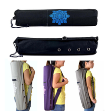 Buy 68 * 15cm Canvas Practical Yoga Pilates Mat Carry Strap Drawstring Bag Sport Exercise Gym Fitness Backpack 6mm Yoga Mat for $14.43 in AliExpress store