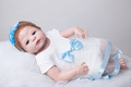 55cm Full Body Silicone Reborn Baby Doll Toys Play House Toy Newborn Girl Baby Christmas Gift