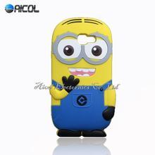 3D Minions Silicone Case Samsung Galaxy J1 mini Ace J2 J3 J5 J7 2016 J120 J510 J710 A3 A5 A7 A310 A510 A710 - Aicol Electornics Co,.Ltd store