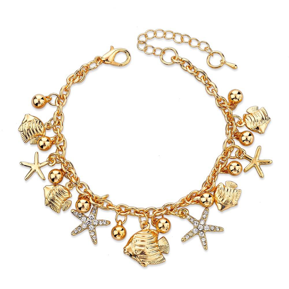 women's fashion 2016 Starfish Bracelet For Women Jewelry ...